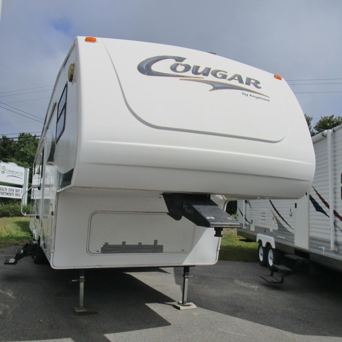 2006 COUGAR 314EFS 35FT/1 SLIDE WITH THREE BUNKS, FIFTH