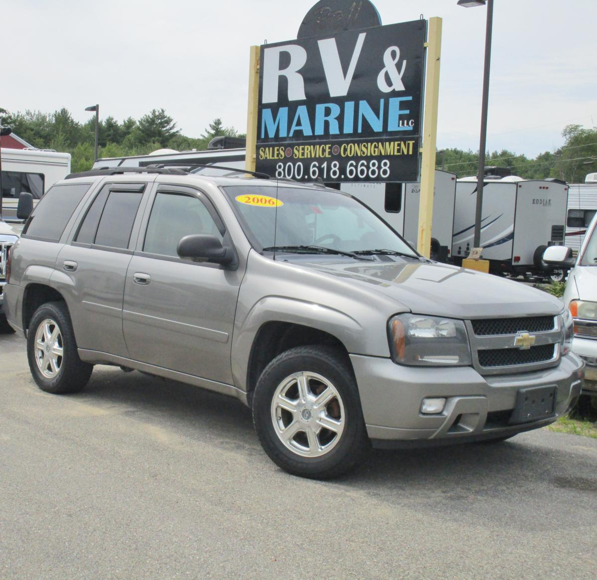 All Chevy chevy 2006 : 2006 CHEVY TRAILBLAZER 4WD FOR $6,995 IN ROCHESTER, NH