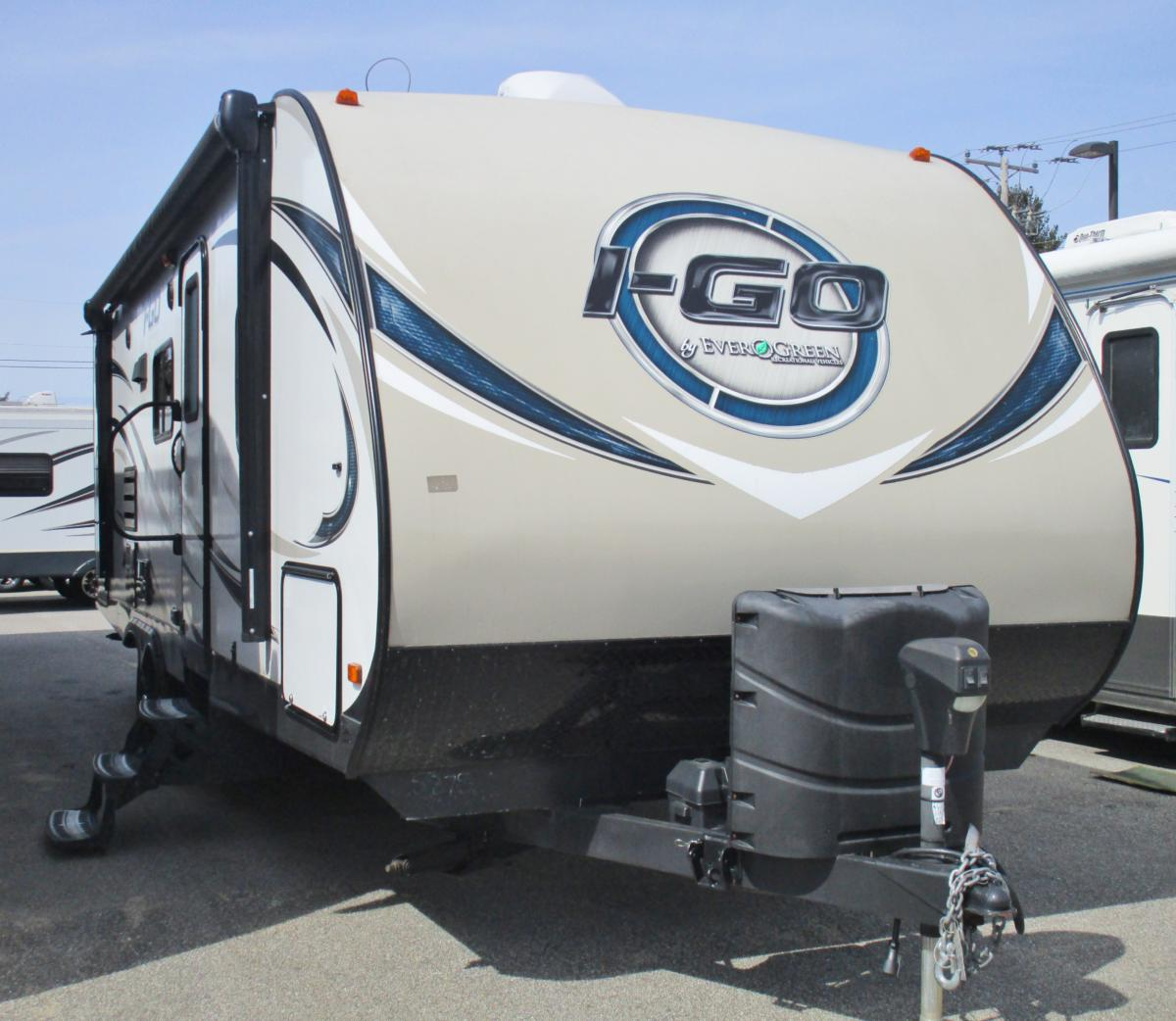 2016 IGO EVERGREEN 260BHS 29FT/1SLIDE TWO BUNK TRAVEL